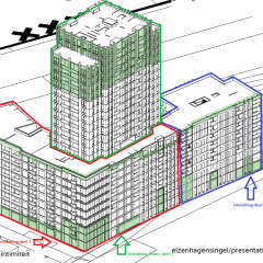 In opdracht van Eigen Haard werkt het Thuismakerscollectief het nieuw te ontwikkelen woonconcept in Amsterdam Noord uit.  In samenwerking met diverse zorgpartijen zet het Thuismakers collectief zich in om thuisgevoel centraal te zetten in een nieuwbouwcomplex met 288 sociale huurwoningen.